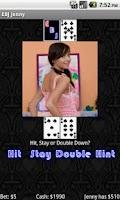 Screenshot of Exotic Blackjack Poker Jenny