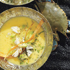 Lime-Crab Soup