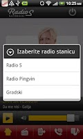 Screenshot of Radio S