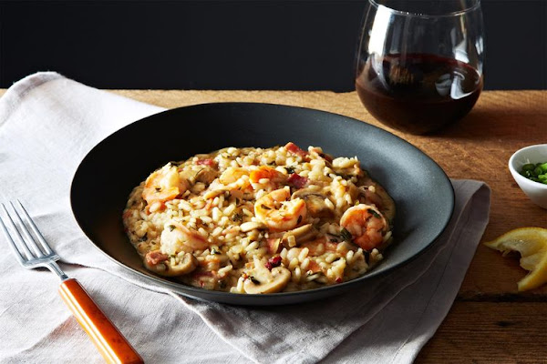 Risotto meets the Deep South.