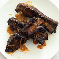 Beef Ribs with Orange and Smoked Paprika Sauce