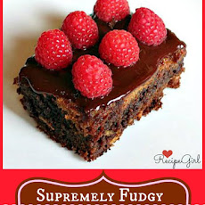 Fudgy Chocolate Raspberry Bars