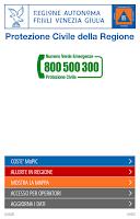 Screenshot of MoPiC - Piani emergenza FVG