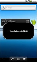 Screenshot of Check Balance