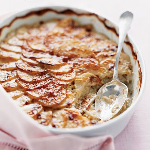 Scalloped Potatoes with Leeks