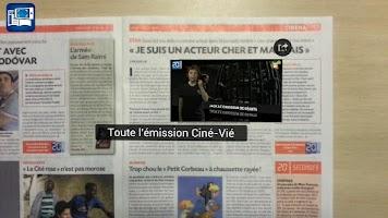 Screenshot of 20 Minutes, journal augmenté