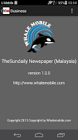 Screenshot of Thesundaily (Malaysia)