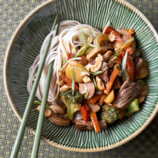 Shredded Beef Lo Mein