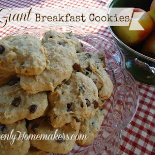 Giant Breakfast Cookies
