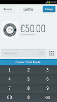 Screenshot of iZettle