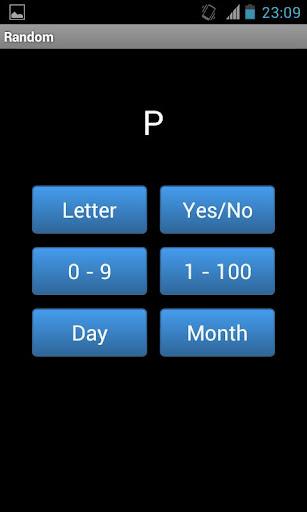字母和數字發生器