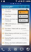 Screenshot of GO Email Widget