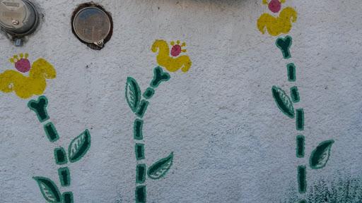 Mural Floreado