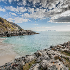 Clouds and beach by Benny Høynes - Landscapes Cloud Formations ( clouds, summer, sea, lake, beach, norway )
