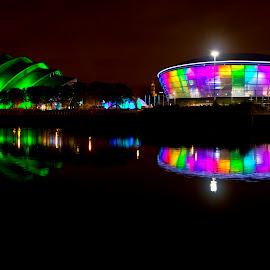Glasgow Hydro by Joe Porter - City,  Street & Park  Skylines