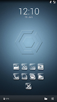Screenshot of xtnd Icon Pack -Nova Apex Holo