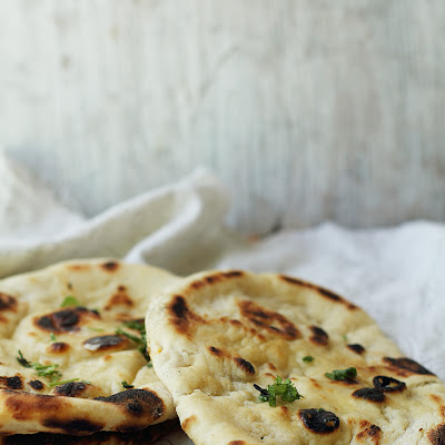 Yeasted Naan