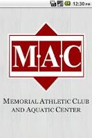 Screenshot of Memorial Athletic Club
