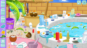 Screenshot of Clean up spa salon