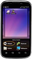 Screenshot of Switch On/Off  2G, 3G, 4G, LTE