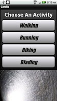 Screenshot of Cardio Pro