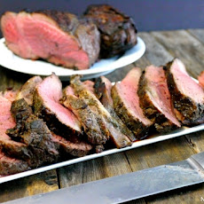 Grilled Butterflied Leg of Lamb with Marinade