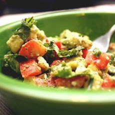 Tomato, Coriander, Avocado and Feta Salad