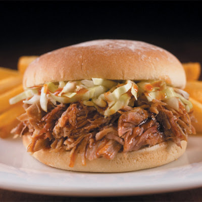 Barbecue Pork Sandwich