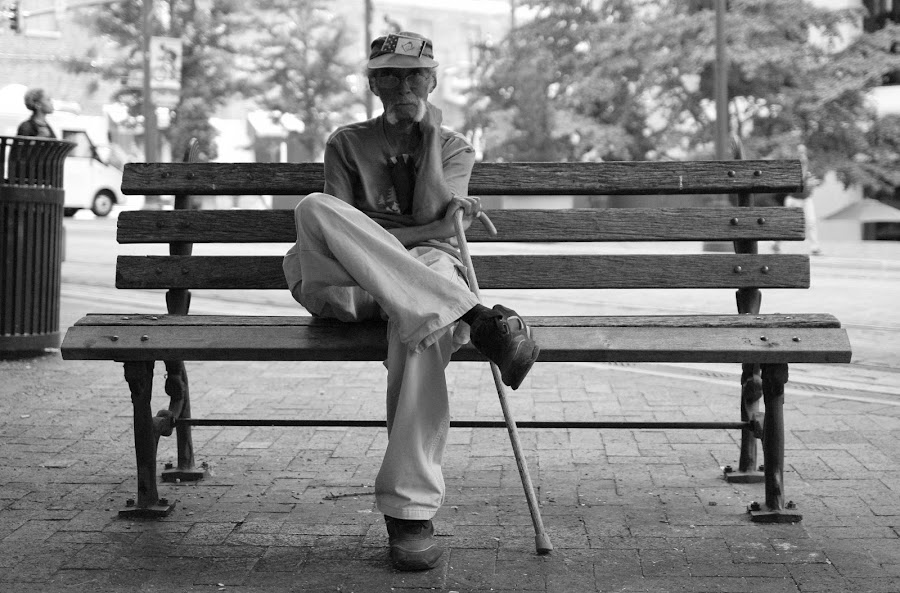 Humble Soul by Paul Hopkins - Black & White Street & Candid (  )