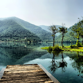Bosnian waterscape by Dalia Kager - Landscapes Waterscapes