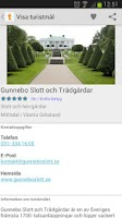 Screenshot of Sök Turistmål.se