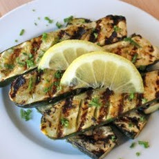 Grilled Lemon Butter Zucchini