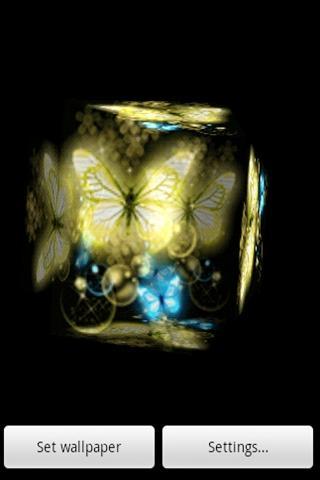 3D 可愛い蝶2