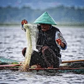It's a hard life by Ifan Wibowo - People Portraits of Men
