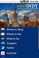 Screenshot of Visit Indy