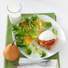 Chicken Parmesan Patty Melts Recipe