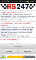 Screenshot of RS247 Motorsport Radio