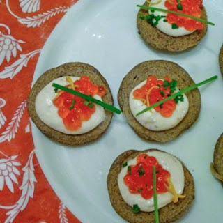 Smoked Trout Creme with Salmon Roe