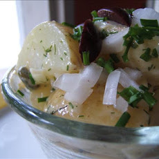 Eastern Mediterranean Potato Salad