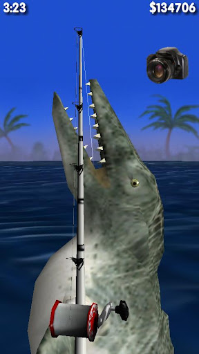 Big Dino Fishing 3D Lite