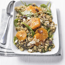 Bulghar Wheat, Date & Clementine Salad