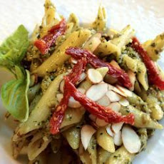 Pasta With Herb Pesto Sauce