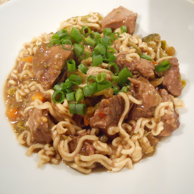 Crockpot Asian Beef and Noodles