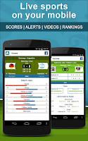 Screenshot of Livescore Soccer Tennis