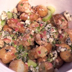 Potato Salad with Roquefort