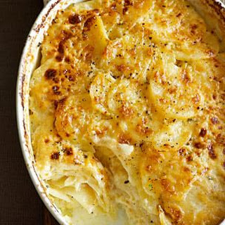 Potato and Celery Root Gratin with Gruyère