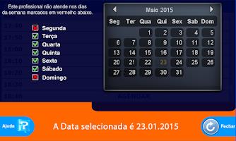 Screenshot of Agenda online