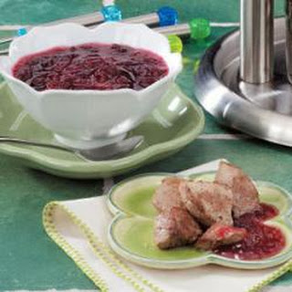 Cranberry Orange Dipping Sauce