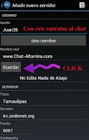 Screenshot of Chat Altamira