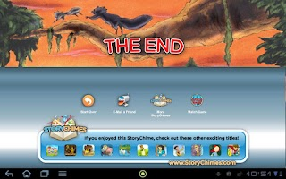 Screenshot of JetPack Benny StoryChimes